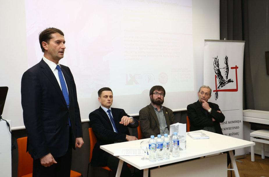 Leidinio apie holokaustą Rytų ir Vakarų Europos valstybėse pristatymas