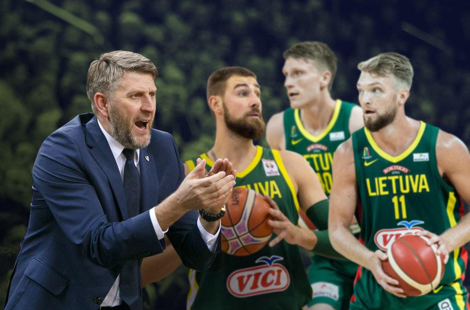 Darius Maskoliūnas imasi darbo Lietuvos rinktinėje.