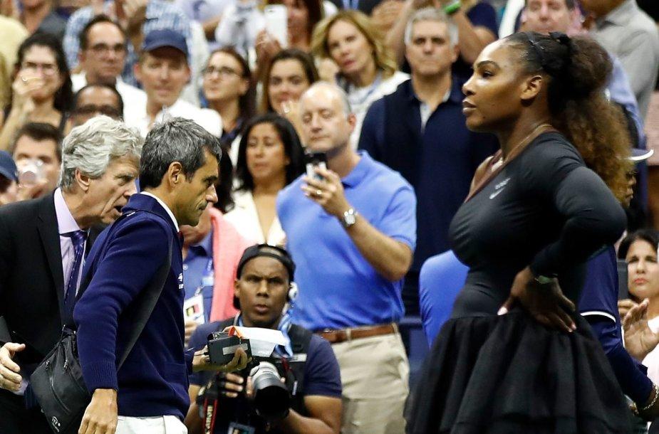 Serena Williams ir Carlosas Ramosas