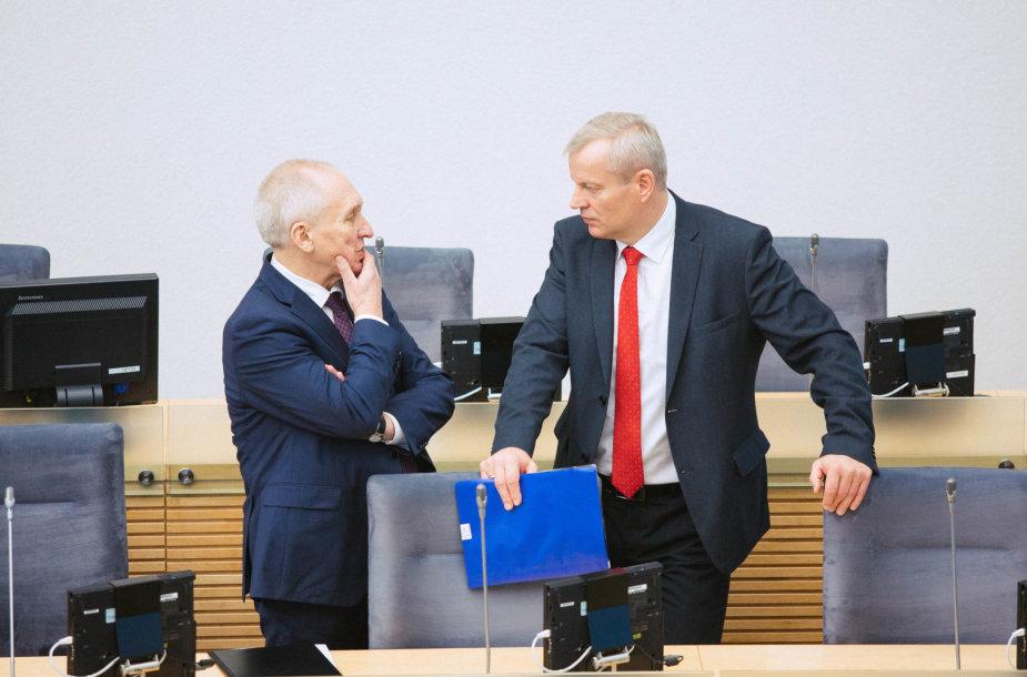 Juozas Gaudutis ir Mindaugas Bastys