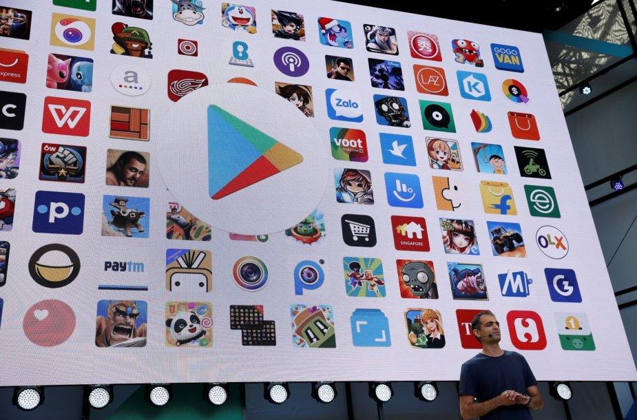 """""""Google"""" pristatė įvairius produktų patobulinimus"""
