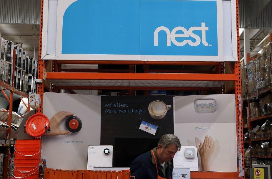 Technologijų milžinė Googe už Nest paklojo 3,2 mlrd. doelrių