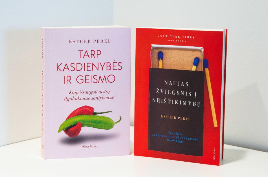 Esther Perel knygos lietuvių kalba