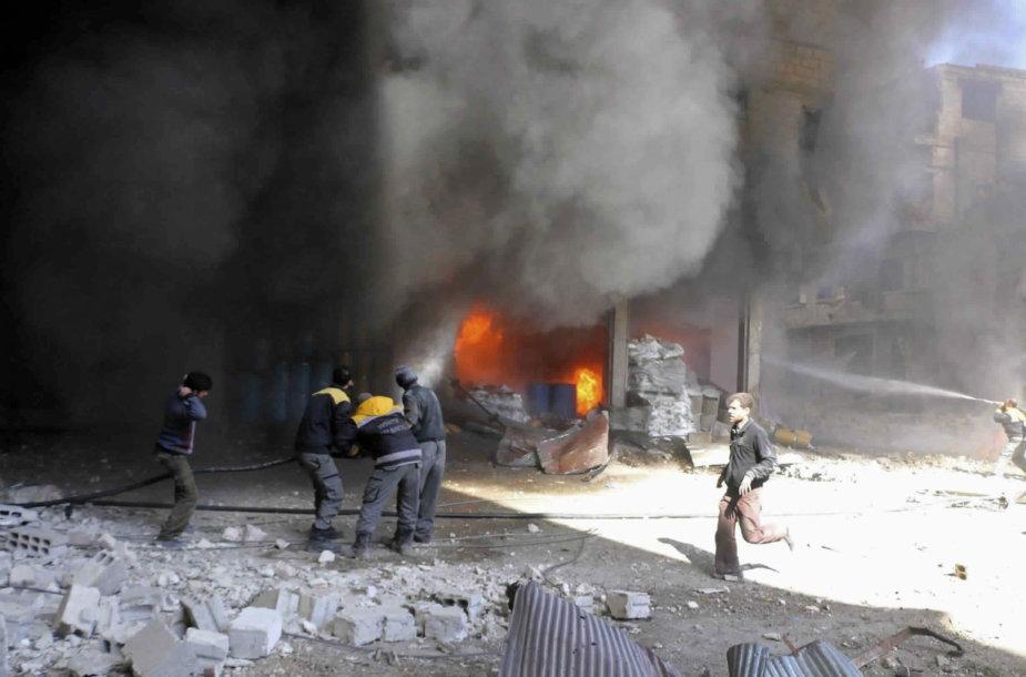 Rytų Guta toliau negailestingai bombarduojama