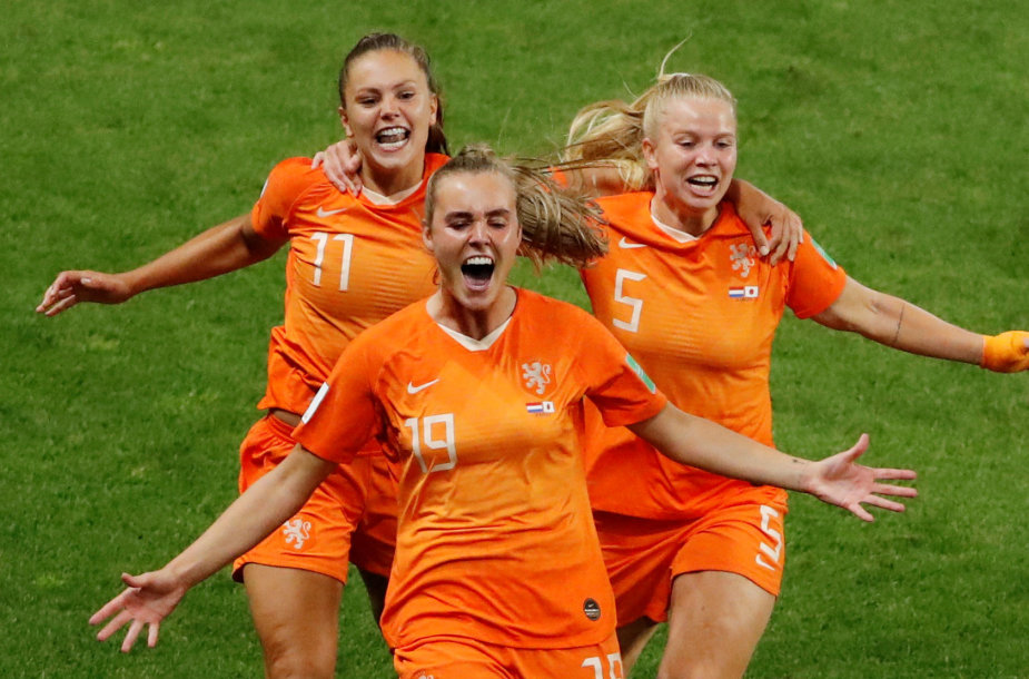 Nyderlandų rinktinės žaidėjos