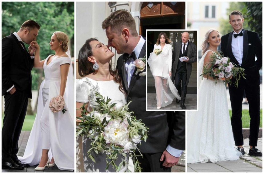 2018 metų vestuvės Lietuvos pramogų pasaulyje