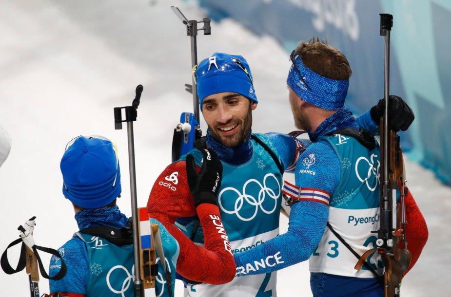 Biatlono varžybos Pjongčange