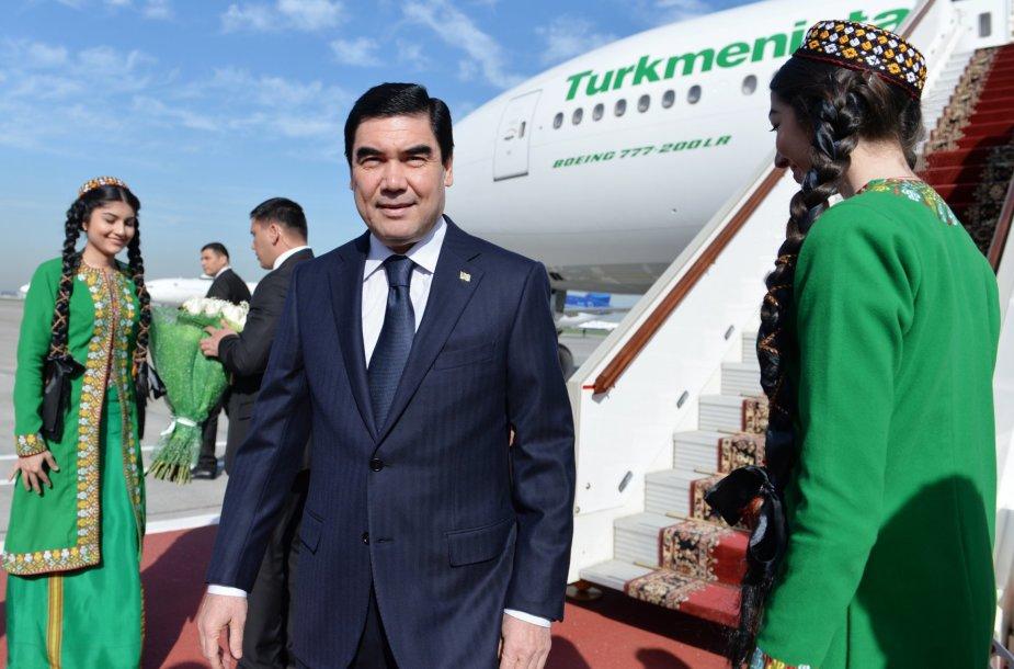 Gurbanguly Berdymuchamedovas.