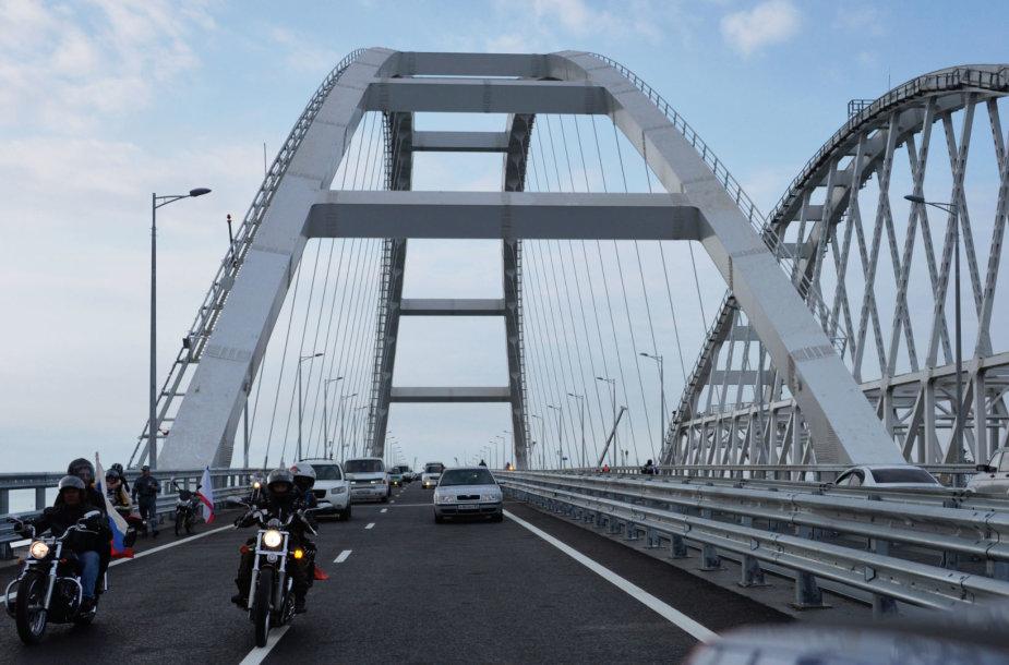 Krymo tilto atidarymas