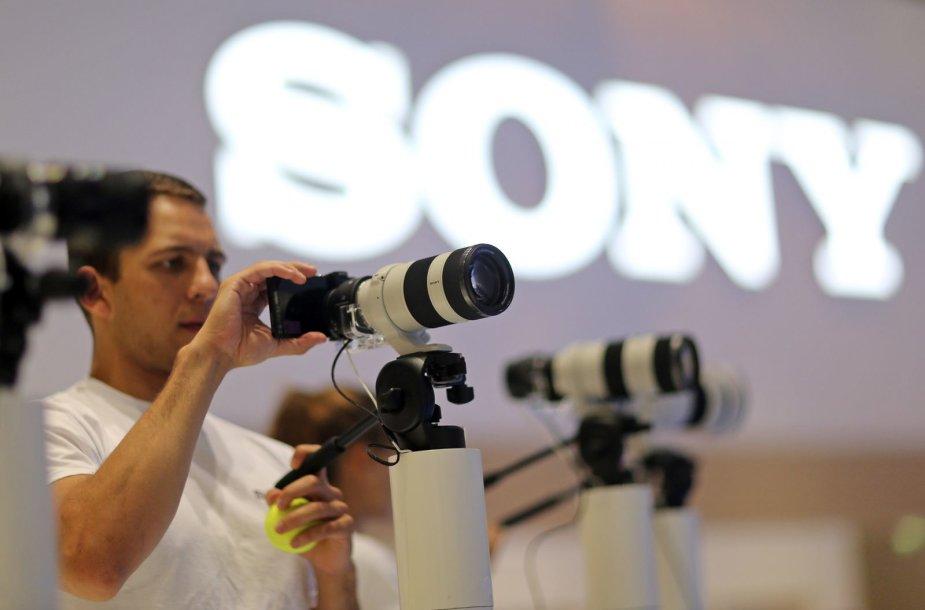"""""""Sony"""" fotoaparatai"""