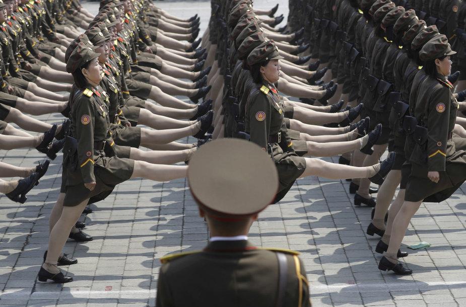 Moterys Šiaurės Korėjos kariuomenėje