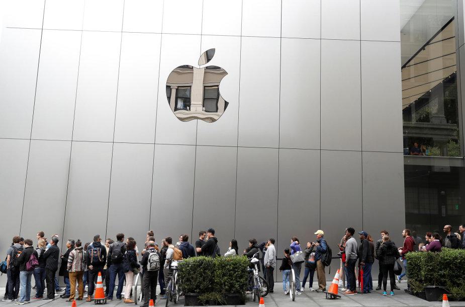 """Apple"" parduotuvė San Francise"