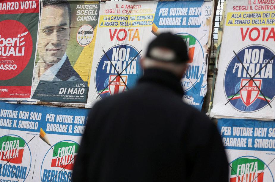 Kaip baigsis rinkimai Italijoje?