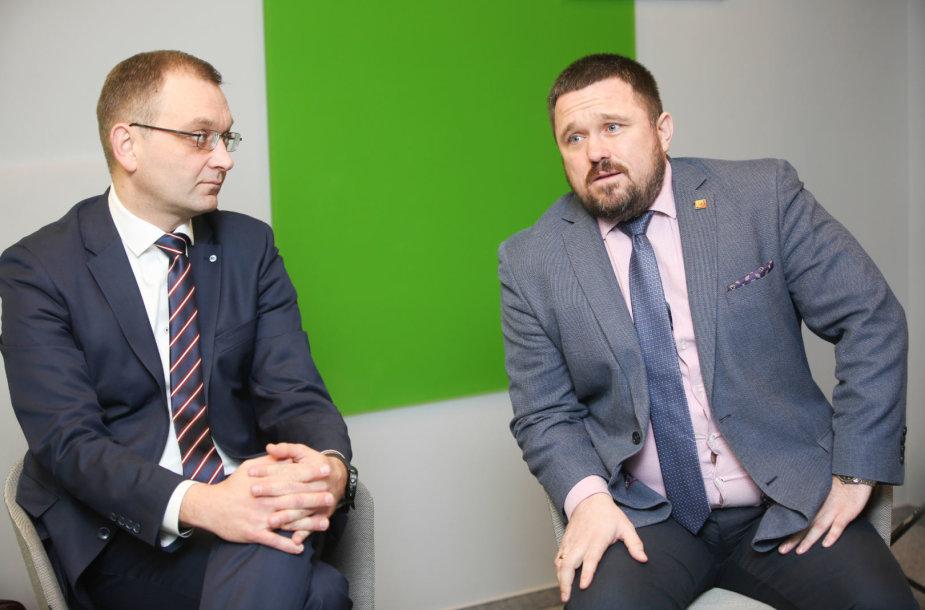Tomas Garuolis ir Gintaras Kondrackis