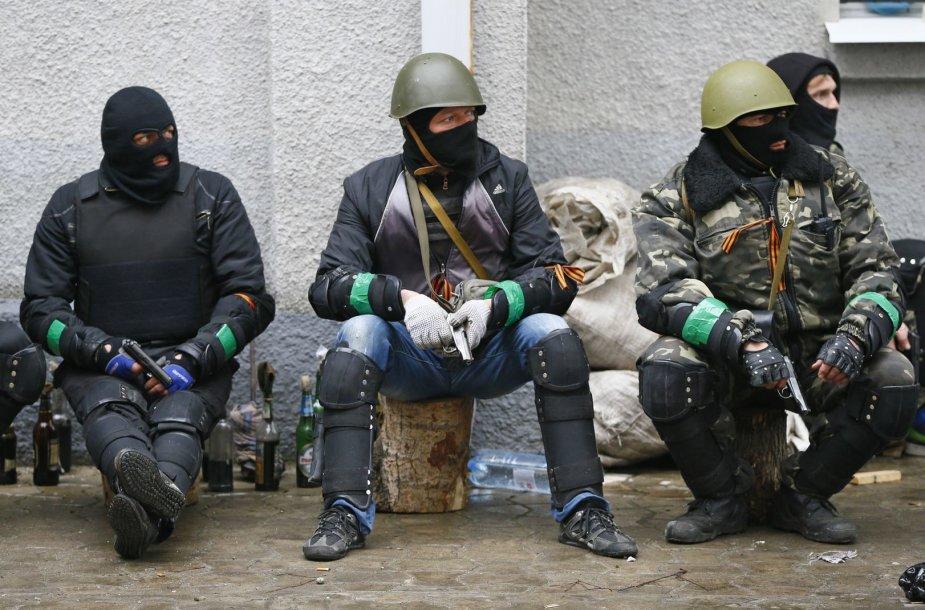 Neramumai rytų Ukrainoje
