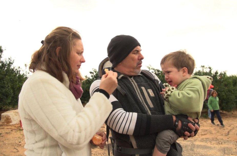 Emigrantė Izraelyje Rima ir jos vyras Omri