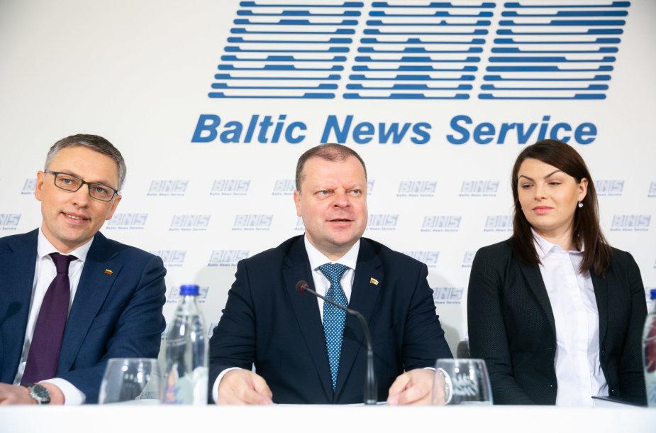 Vytautas Bakas, Saulius Skvernelis, Rasa Kazėnienė