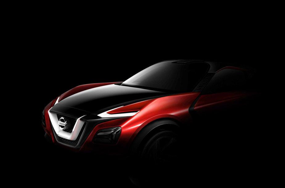 """""""Nissan"""" krosoverio konceptas"""