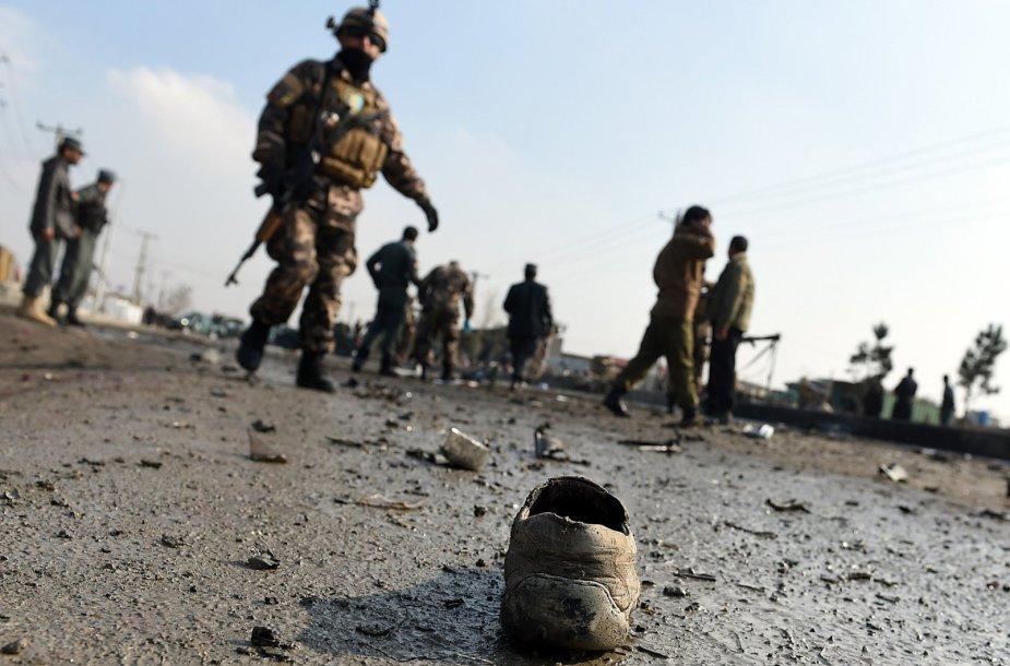 Mirtininko išpuolio padariniai Kabule