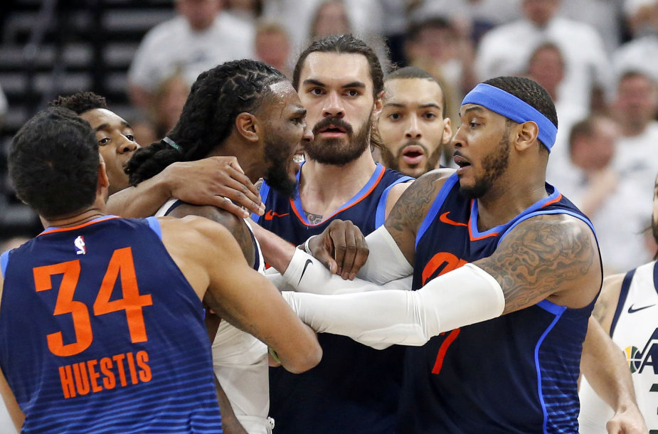 """Utah Jazz"" – ""Oklahoma City Thunder"""