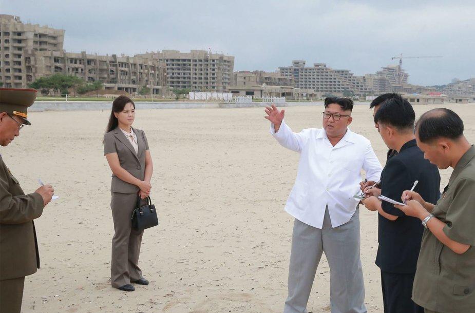 Kim Jong Unas Vonsane-Kalme