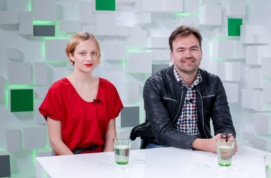 Justina Mykolaitytė ir Mykolas Katkus