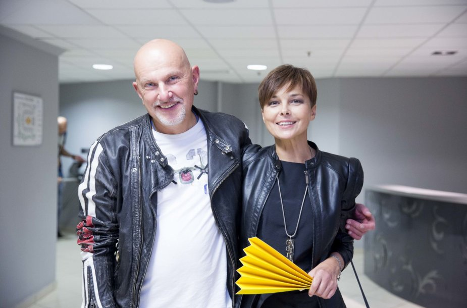 Gintaras Kudaba ir Audrė Kudabienė