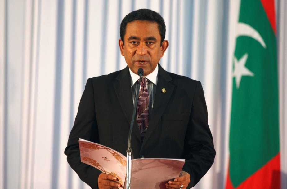 Maldyvų prezidentas Abdulla Yameenas