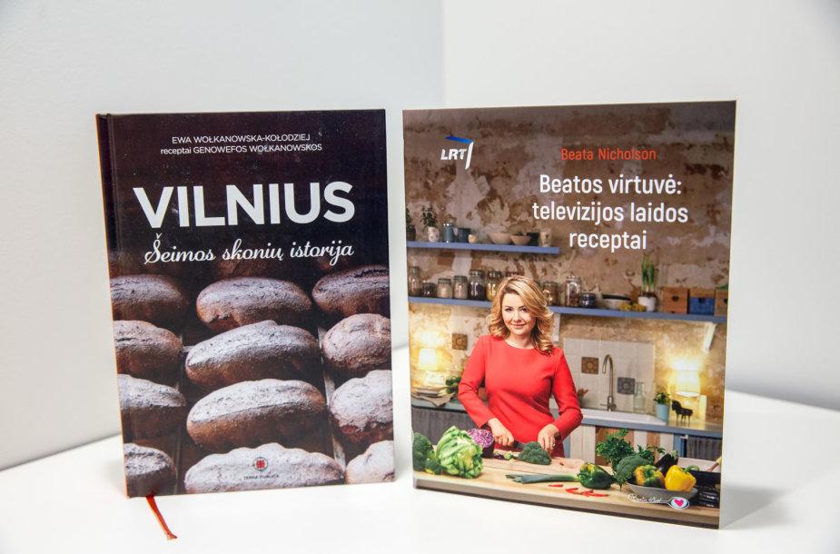 Naujos kulinarinės knygos