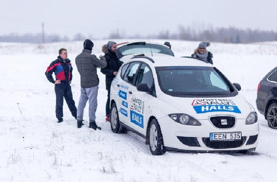 """""""Halls Winter Rally"""" išvakarėse"""