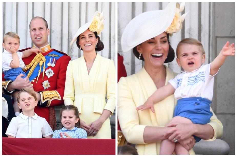 Princas Williamas su Kembridžo hercogiene Catherine ir vaikais