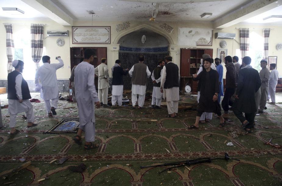 Kabule per sprogimą mečetėje žuvo keturi žmonės