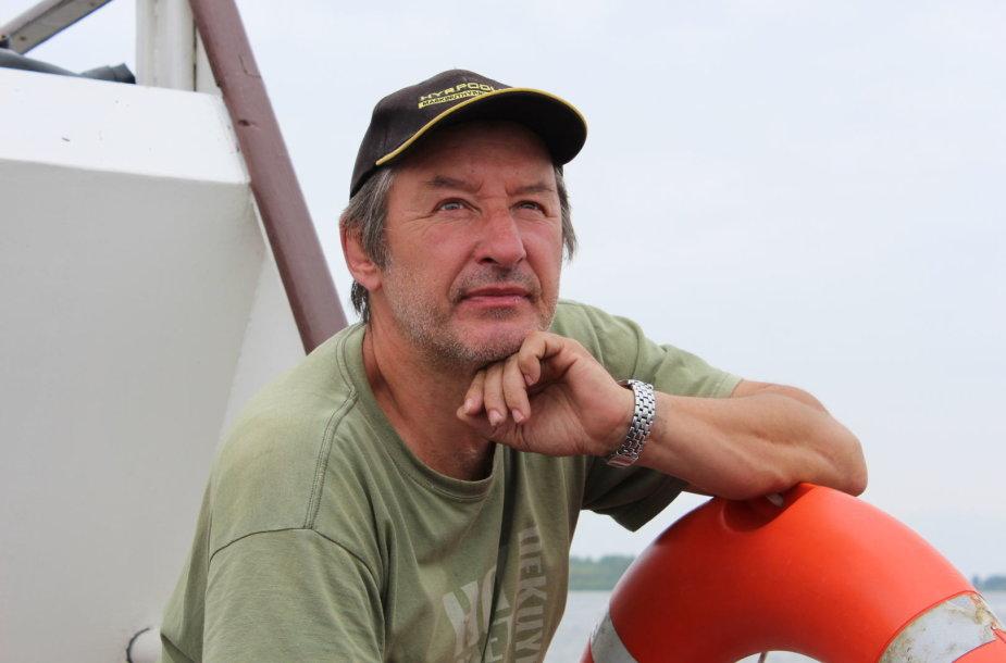 Menininkas Viktoras Binkis. Lilės Valatkienės nuotr.