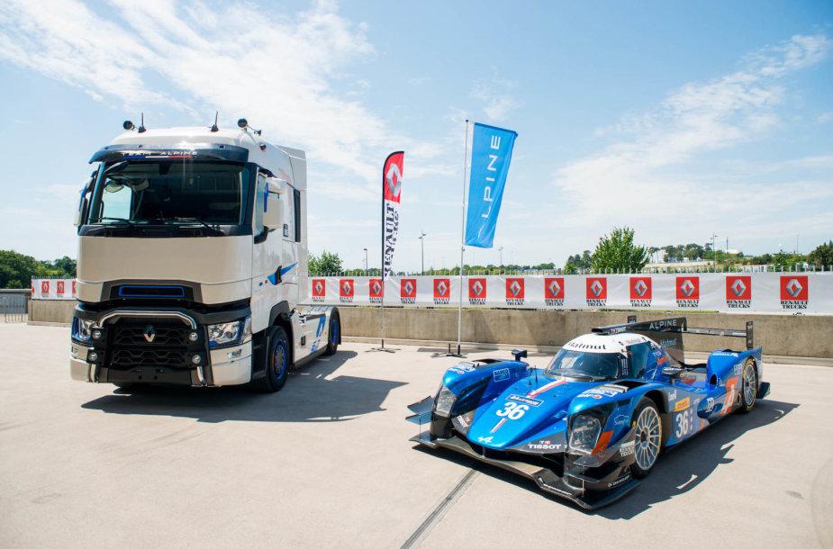 """""""T High Edition – Team Alpine"""" sunkvežimis"""