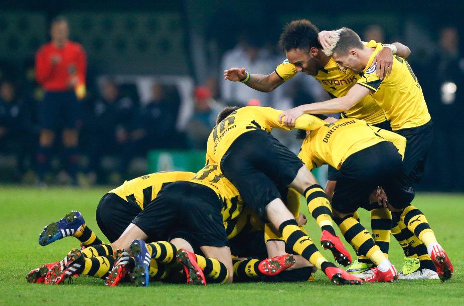 """""""Borussia"""" žaidėjų triumfas"""