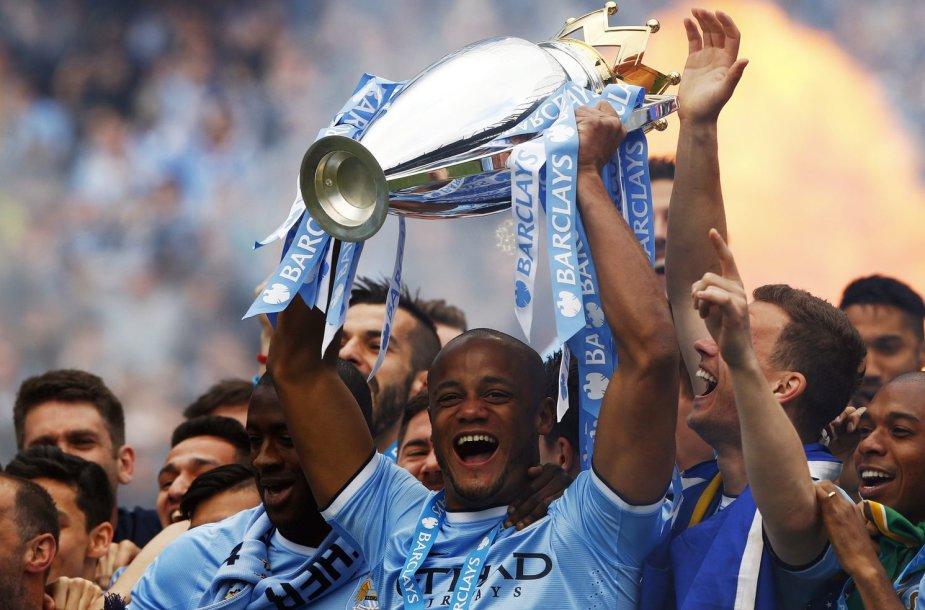 """""""Manchester City"""" tapo Anglijos čempionu"""