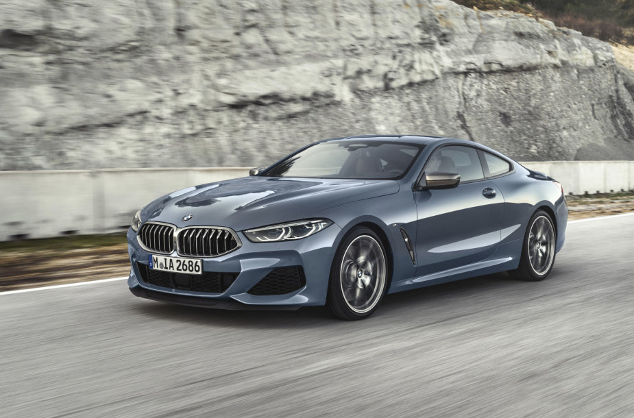 Naujasis 8 serijos BMW kupė