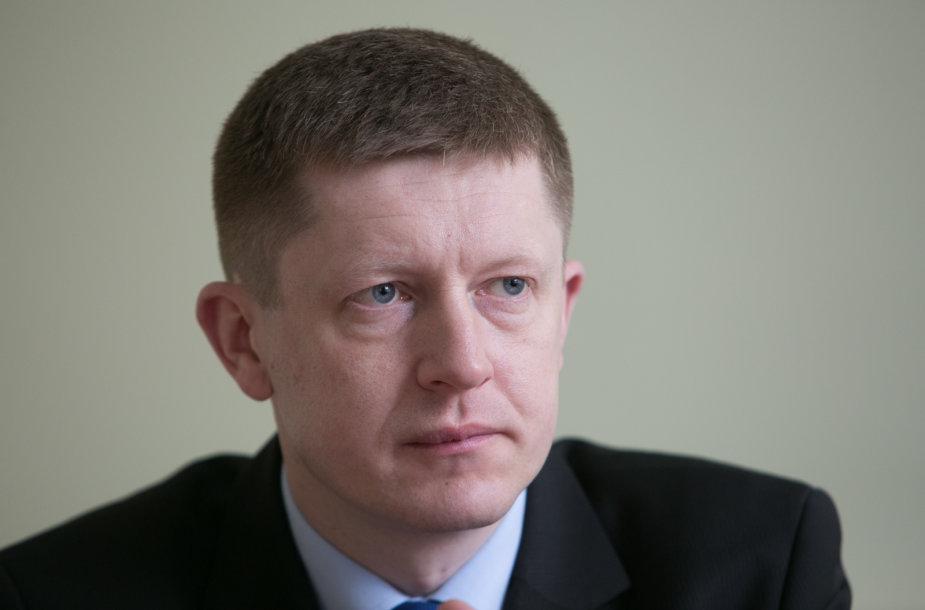 Finansinių nusikaltimų tyrimų tarnybos Neteisėtos paramos prevencijos ir tyrimo valdybos viršininkas Rolandas Šlepetys