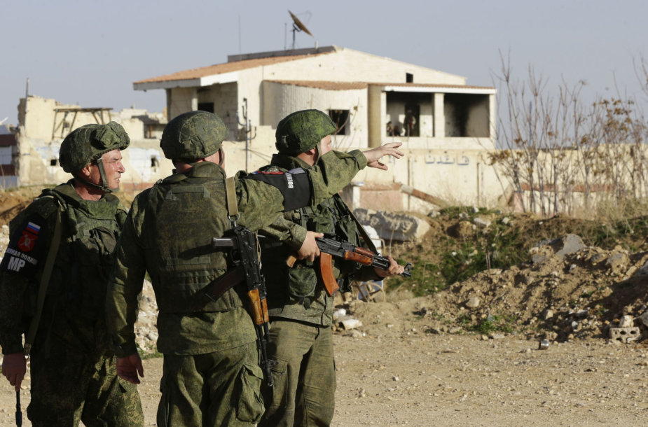 Rusijos kariai Sirijoje