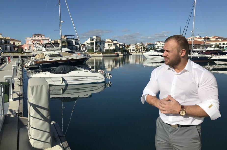 Ironvyto vaizdo klipo filmavimas Kipre