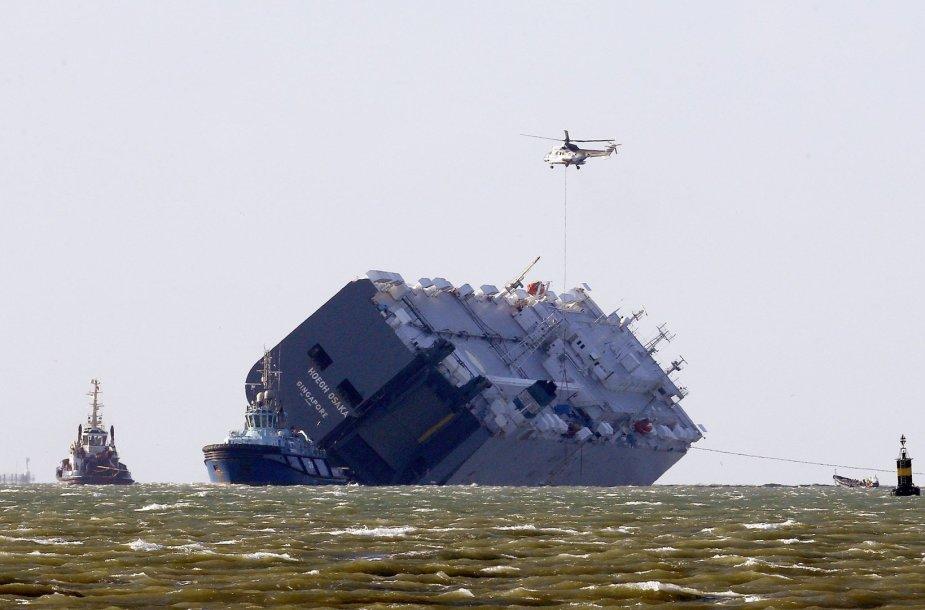 "Krovininis laivas ""Hoegh Osaka"""