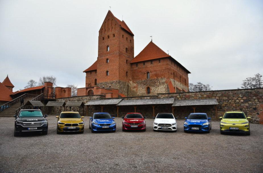 """""""Lietuvos metų automobilis 2019"""" geriausiųjų septintukas"""
