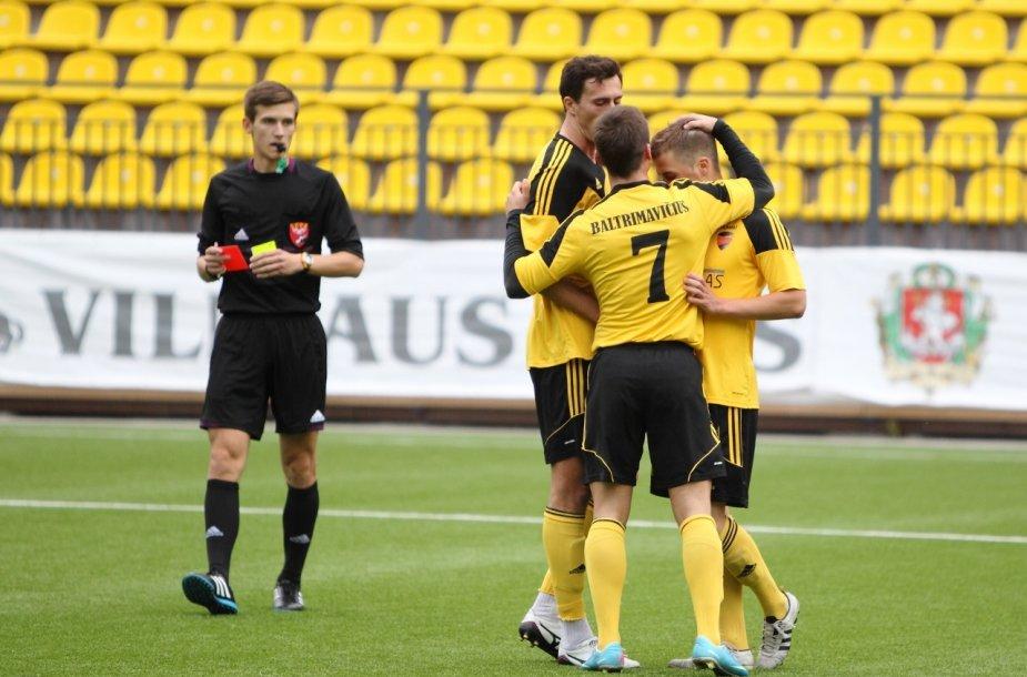 FK MRU futbolininkai