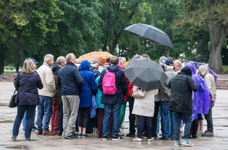 Lietus Vilniuje