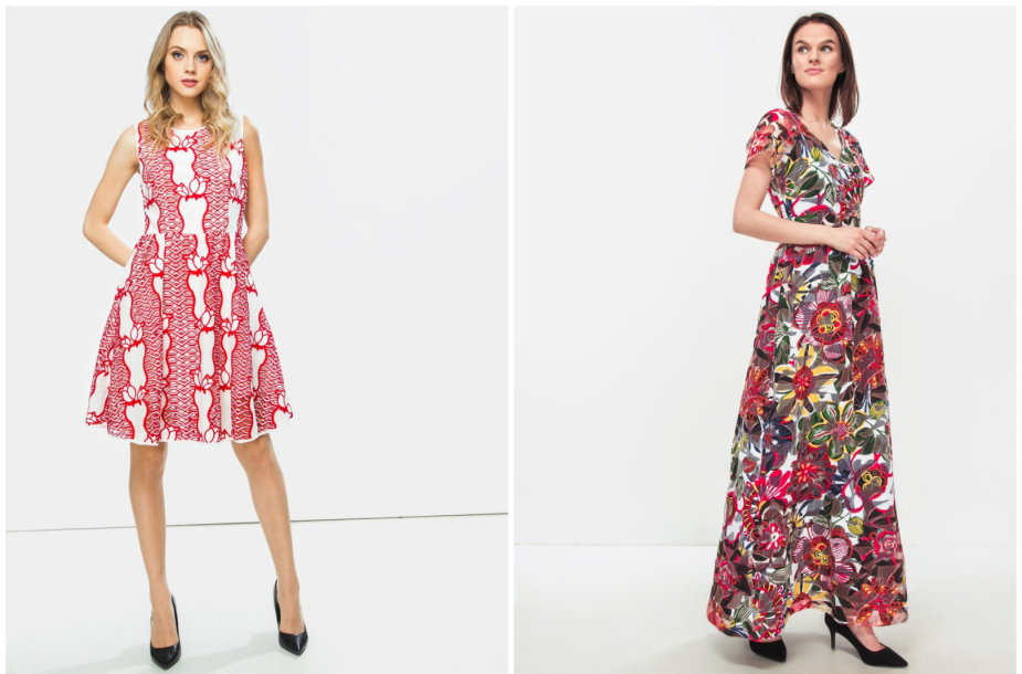 """Silvian Heach"" suknelė 99,99€, ""Max&Co"" suknelė 129€"
