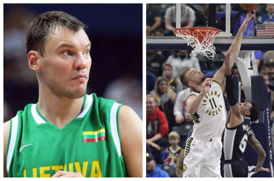 D.Sabonio rezultatyvumo rekordas NBA – 22 taškai, Š.Jasikevičiaus – 20.