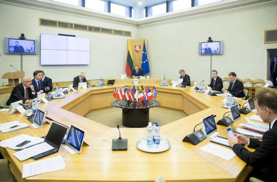 Vyriausybės posėdis dėl 2018-ųjų metų biudžeto