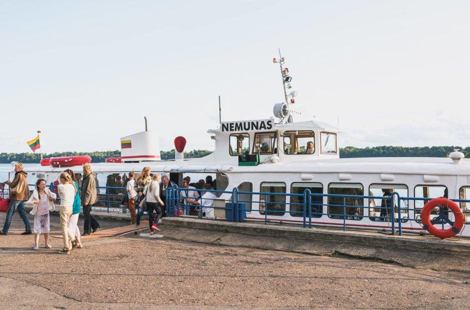 Kelionės laivu po Kauno regioną šiemet buvo labai populiarios