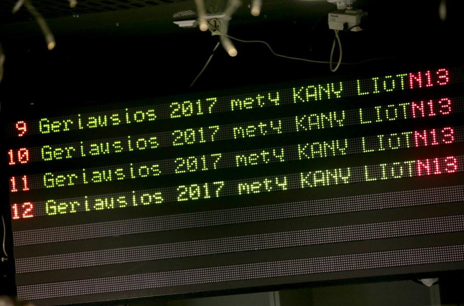 Vilniaus kino teatre pradedamos rodyti Kanų liūtų reklamos