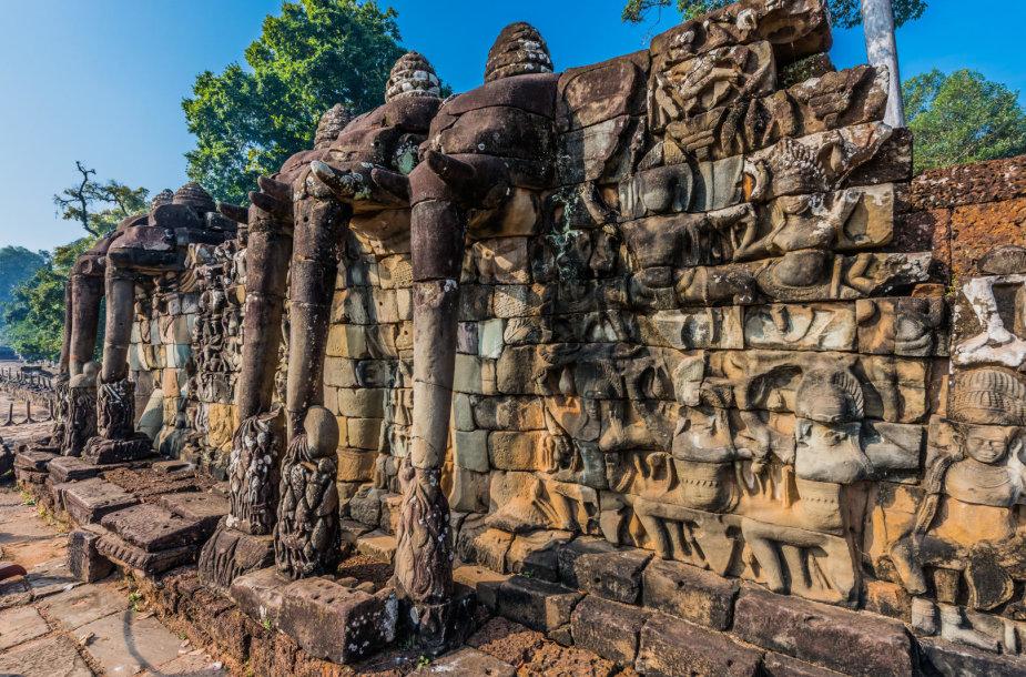 Dramblių terasa šventykla